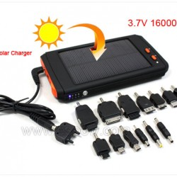 High Capacity Solar Panel Charger for Laptop Camera & Cell Phone